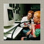 jaco en joost bedienen computer