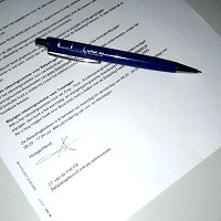 contract met bouwbedrijf