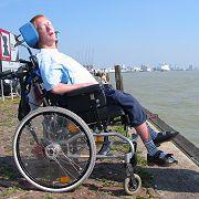 joost in rolstoel