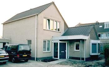 Aanbouw vrijstaande woning Middelburg