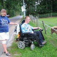 stel in rolstoel