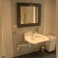 Wonen en zorg thuis, badkamer aanpassingen.